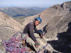 Rock Climbing Photo: Top of Directissima