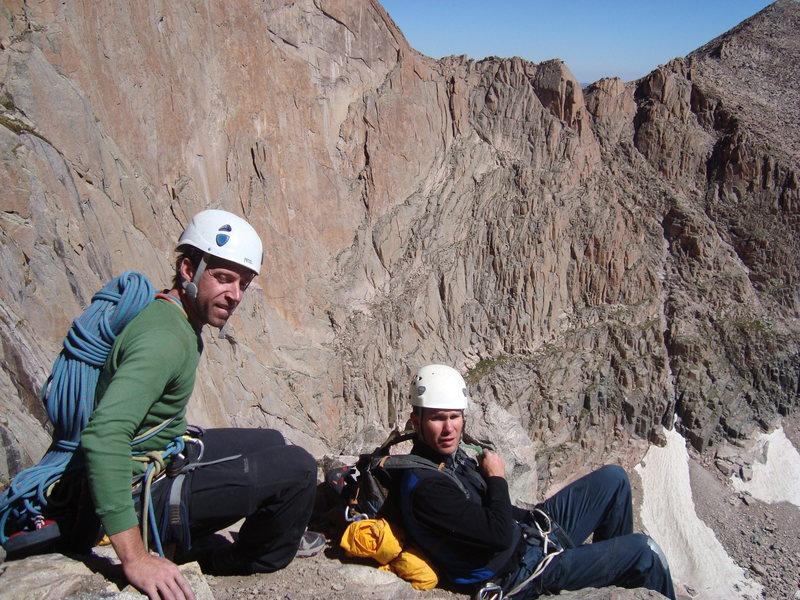 Rock Climbing Photo: Chillin with some other climbers