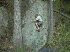 Rock Climbing Photo: Good feet here.