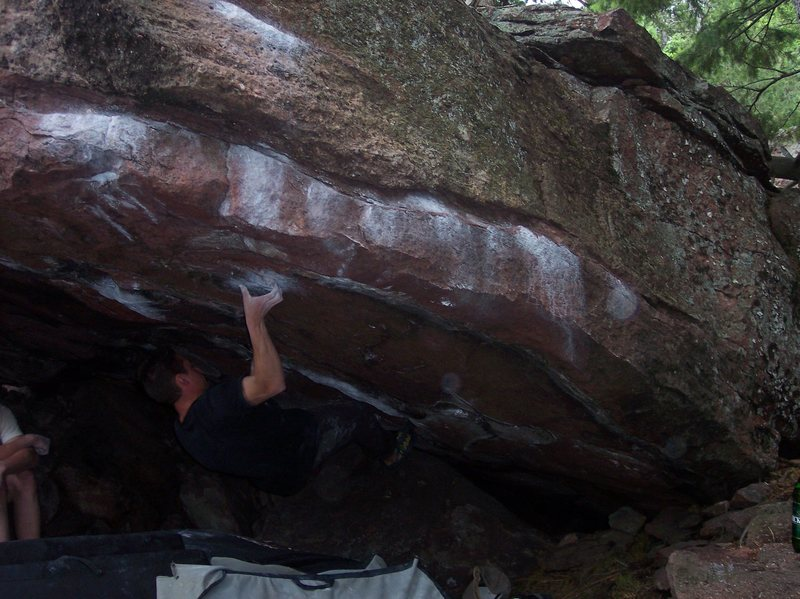 Rock Climbing Photo: Captain Hook.