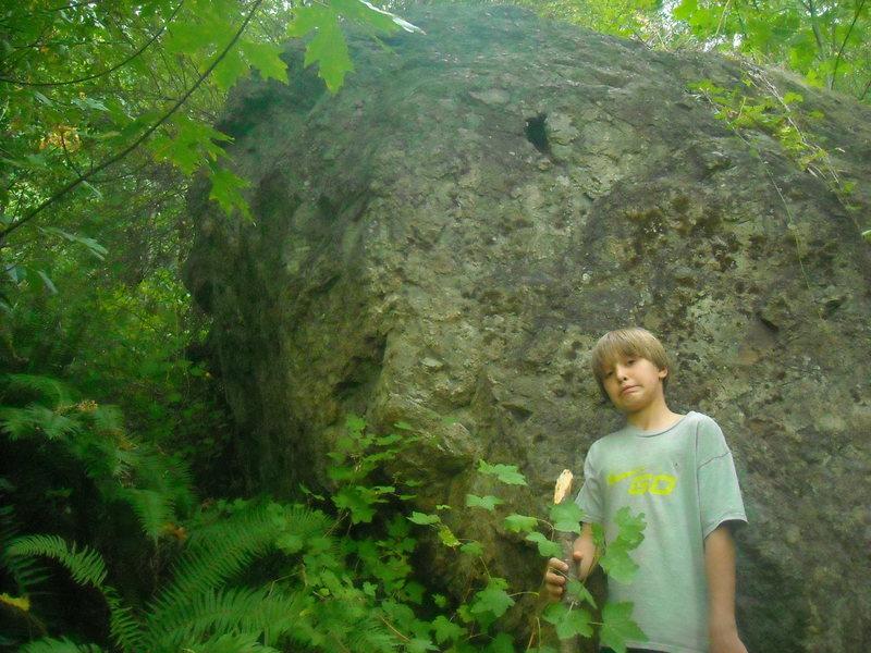 Rock Climbing Photo: The Blackberry