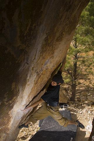 Rock Climbing Photo: Streeeetchhh.