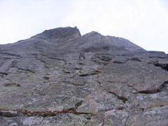 Rock Climbing Photo: First pitch of pagoda