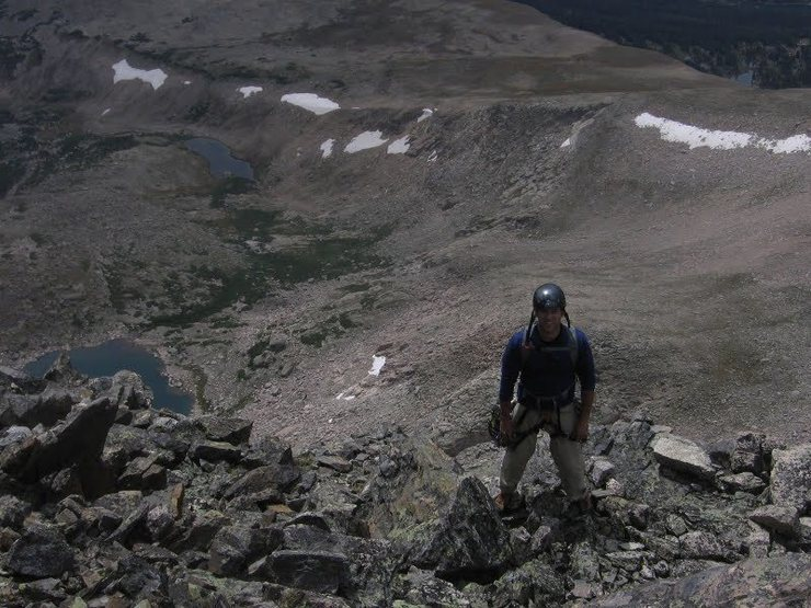 Rock Climbing Photo: On top.