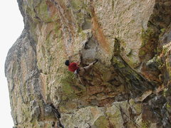 Rock Climbing Photo: Pete on Coup de' tat