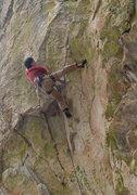 Rock Climbing Photo: Pete on Coup de' tat