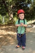Rock Climbing Photo: Bryson's first climbing trip--San Ysidro Canyon, A...