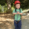 Bryson's first climbing trip--San Ysidro Canyon, August 9, 2009...age 2-1/2 years.