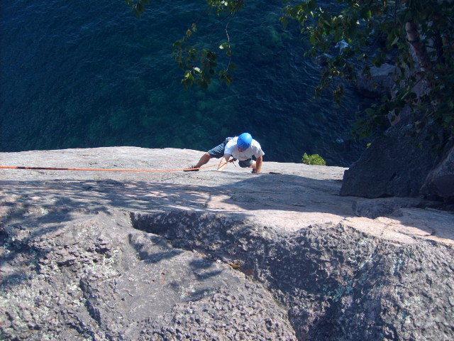 "Rock Climbing Photo: Scott on ""dance"""