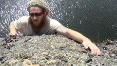 Rock Climbing Photo: isle royale bouldering