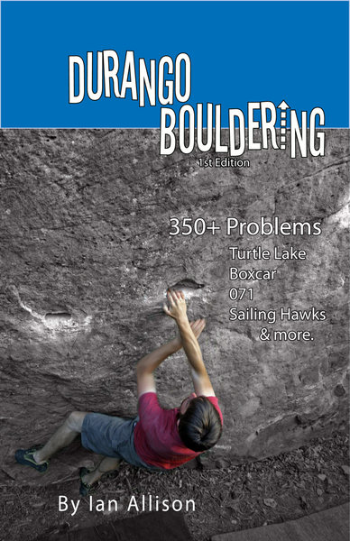 Durango Bouldering Guide Cover