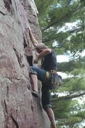 Rock Climbing Photo: Clip that brassy! Classic DL