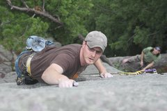 Rock Climbing Photo: One of the Lake's best routes...