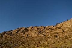 Rock Climbing Photo: North End of Hercules Gap