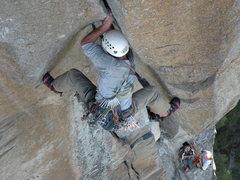 Rock Climbing Photo: Pitch seven