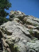 Rock Climbing Photo: Standing at the highest point on the Thimble as vi...