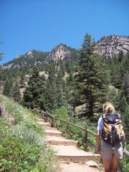 Rock Climbing Photo: Eldorado Canyon.