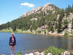 Rock Climbing Photo: Lily lake