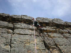 """Rock Climbing Photo: """"Left of SLings and Things"""" toproped"""
