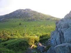 Rock Climbing Photo: The crests at Grayson Highlands State Park VA