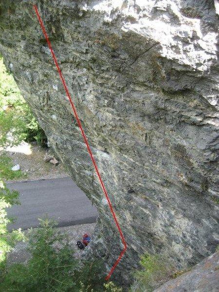 Rock Climbing Photo: Pig Pen 12a/b