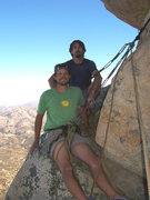 Rock Climbing Photo: Mark Winslow (foreground) and Dan Braihland (backg...