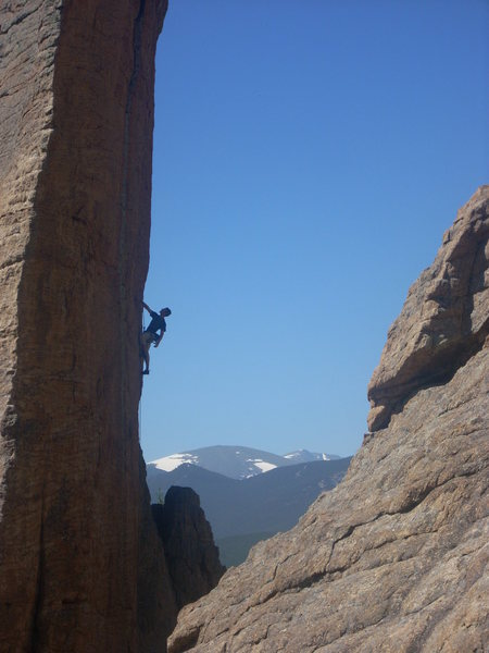 Rock Climbing Photo: Lily Lake, Estes Park, CO