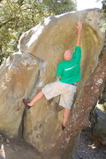 Rock Climbing Photo: Taken with the auto timer...