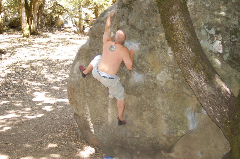 Rock Climbing Photo: Bates Eliminate... maybe done the right way?