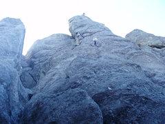 Rock Climbing Photo: Good route!