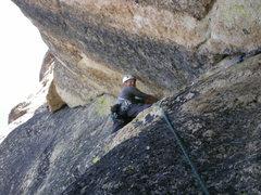 Rock Climbing Photo: Sweet 3rd pitch