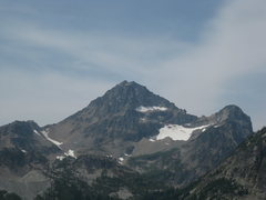 Rock Climbing Photo: Black Peak, from the east.