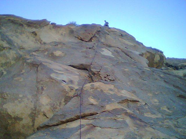 Rock Climbing Photo: Brandt Allen on The Wind Tower