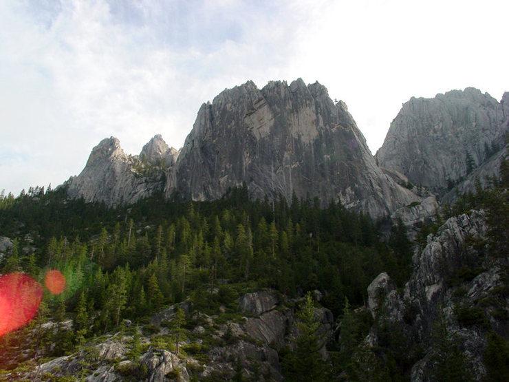 Becks Tower, Castle Crags Wilderness