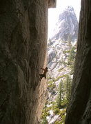 Rock Climbing Photo: The Flying Monkey 5.13b The Marble Gully, Beck's T...