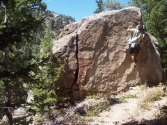Rock Climbing Photo: Suprise Block, Boulder Canyon