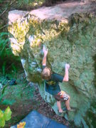 Rock Climbing Photo: Kaleb on The Sting.