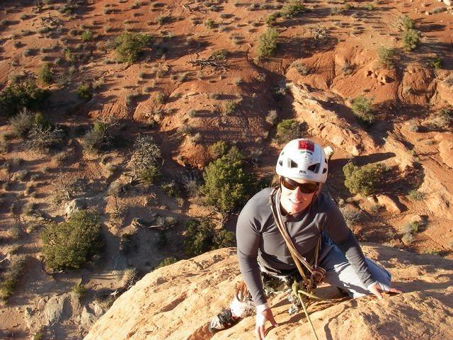 Rock Climbing Photo: Dark Angel ~ Moab