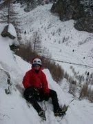 Rock Climbing Photo: Ice climbing ~Italy