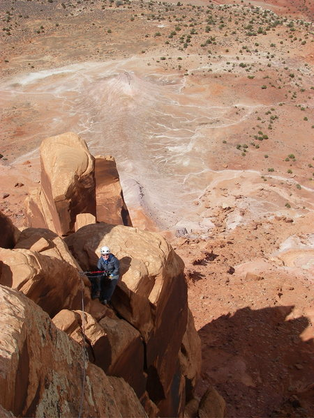 Rock Climbing Photo: South Six Shooter ~ Moab