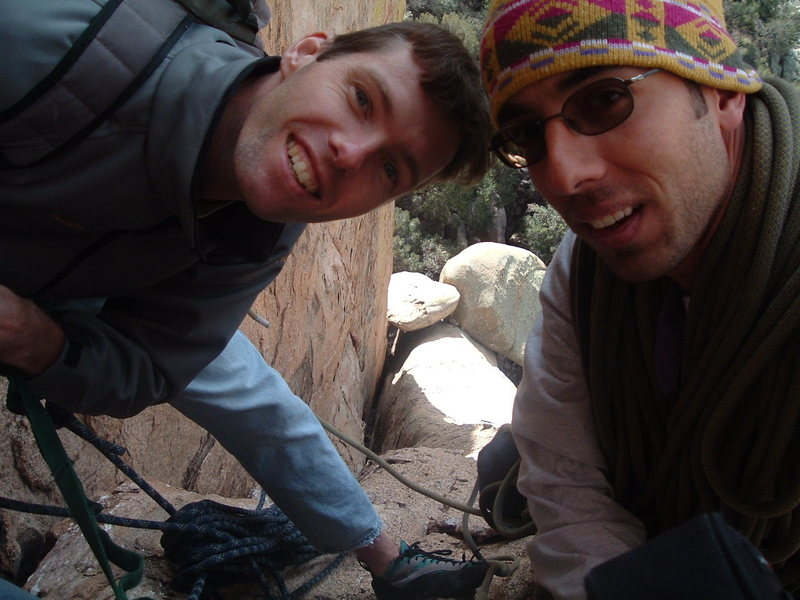 Rock Climbing Photo: Fun old times!!! Herman and Aleix