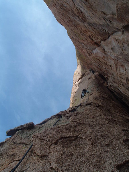 Rock Climbing Photo: View of the first pitch
