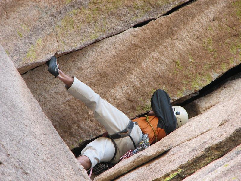 Rock Climbing Photo: !!!