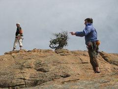 Rock Climbing Photo: wondering around