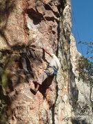 Rock Climbing Photo: something on The Steep