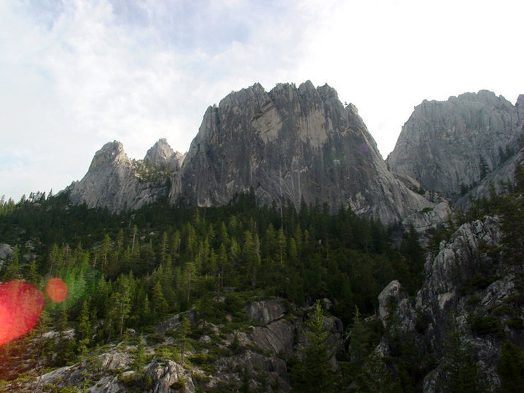 Rock Climbing Photo: Beck's Tower