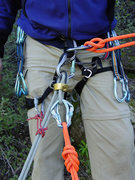 Rock Climbing Photo: This is the setup that I routinely use when I have...