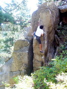 Rock Climbing Photo: Slot Machine, Boulder Canyon