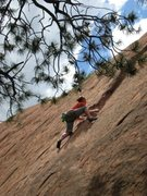 Seconding Among the Stars at Red Rock Canyon Open Space, CO. REALLY happy I didn't have to lead that!