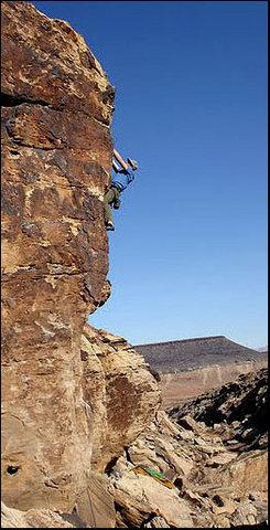 Rock Climbing Photo: Skin Graft